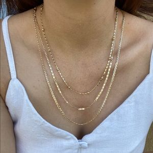 Set of 3 Gold Chains